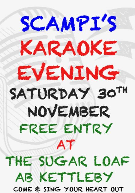 Karaoke Scampi