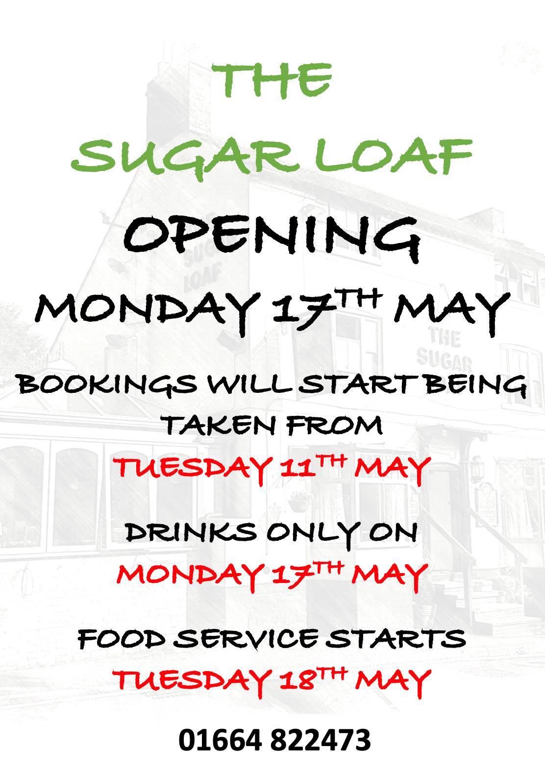 Sugar loaf opening